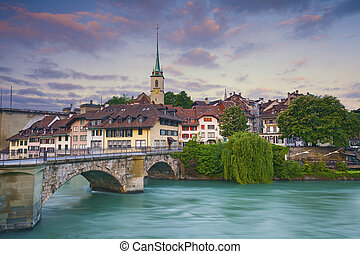 Bern - Image of Bern, capital city of Switzerland, during...