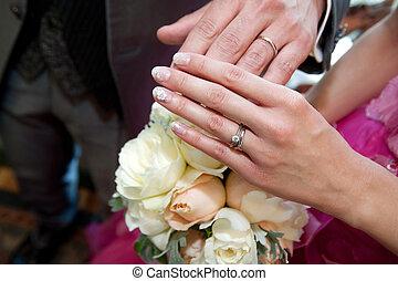 casório, anel,