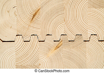 cut wooden laminated veneer lumbe