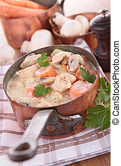 blanquette,french gastronomie