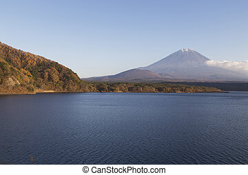 MtFuji in autumn, Japan - This photo was shot from the area...