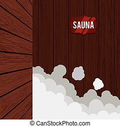Wooden design. - Wooden texture and objects design, vector...