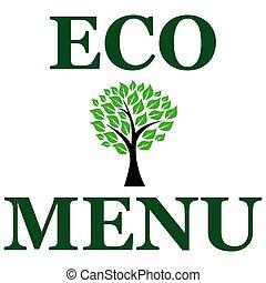 Eco menu