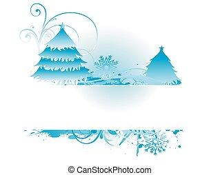 bluish christmas backround - vector bluish christmas...