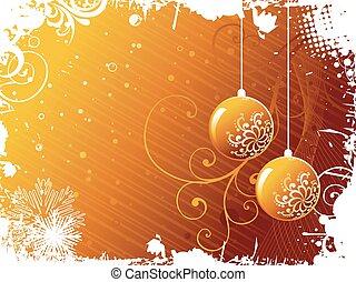 Golden Christmas Balls - vector beatiful golden christmas...