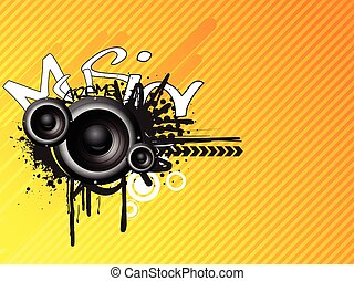 Music absrtact design - This is a music abstract design...