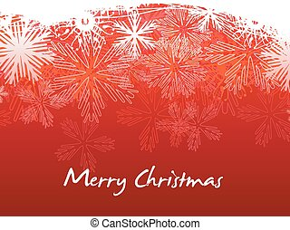 Beautiful red Christmas Vector - vector beatiful red...