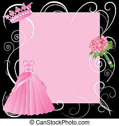 Sweet 16, La Quinceanera party invitation - for wedding,...