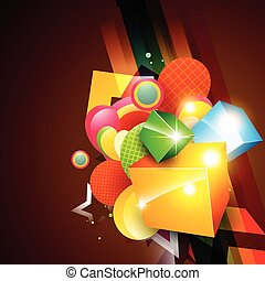 eps10 vector - abstract shiny eps10 vector background