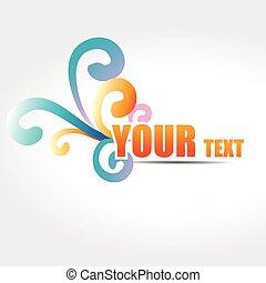 vector text design