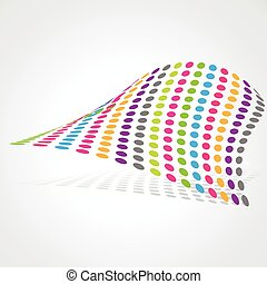 abstract artistic design - vector colorful abstract artistic...