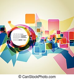 eps10 vector - colorful vector eps10 background illustration