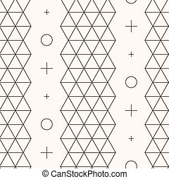 Seamless pattern Geometric texture Abstract background...