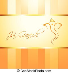 lord ganesh vector - artistic design of lord ganesh