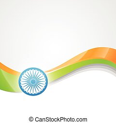 vector indian flag design art
