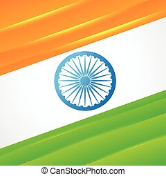 indian flag vector design