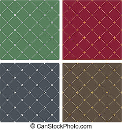 Four decorated backgrounds - Four different classical style...