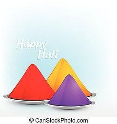 holi festival background - stylish colorful holi festival...