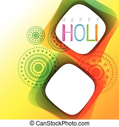holi festival background - vector holi festival background...