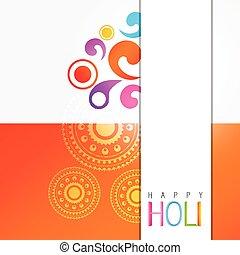 holi festival celebration - stylish colorful holi festival...