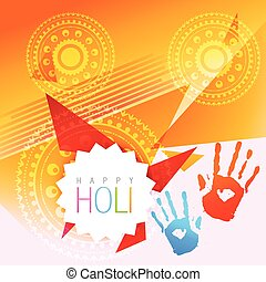 colorful holi festival - beautiful holi festival background...