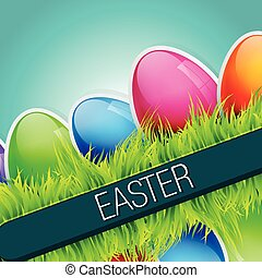 shiny easter background - stylish easter background with...