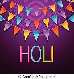 holi festival background - holi festival vector background...