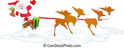 Santa\'s Sled