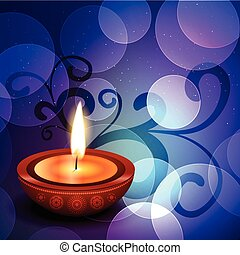 beautiful diwali background - beautiful colorful happy...