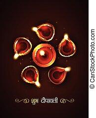 stylish diwali festival - vector stylish diwali festival...
