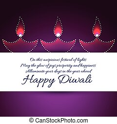 Happy diwali background - Vector happy diwali background