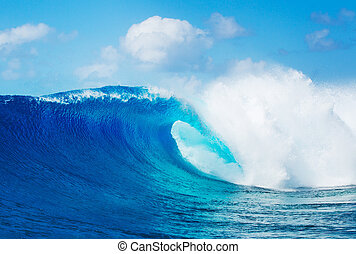 Epic Waves, Perfect Surf - Blue Ocean Wave, Epic Surf