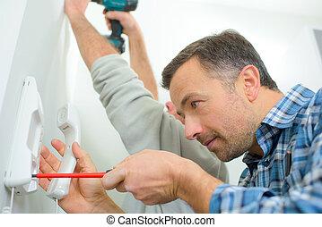 Fitting an intercom system