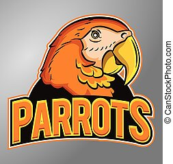 Parrots mascot