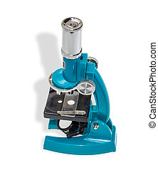 School microscope - Specular microscope for schoolboy with a...