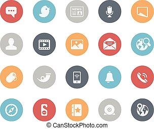 Social Media Icons // Classics