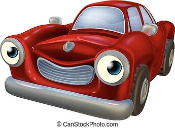 Car cartoon character