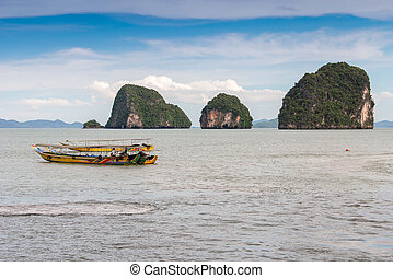 Phuket James Bond island Phang Nga.