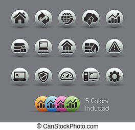 Web Developer Icons Pearly Series - The vector file includes...