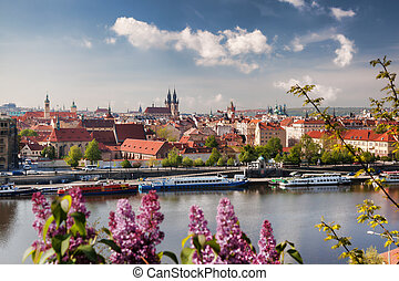 Prague, capital city of Czech Republic - Famous Prague,...