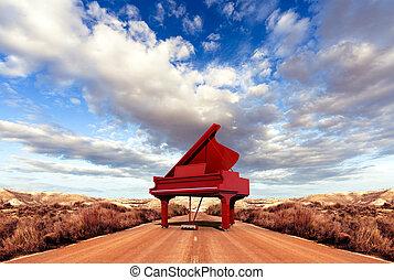 鋼琴, 概念, 音樂