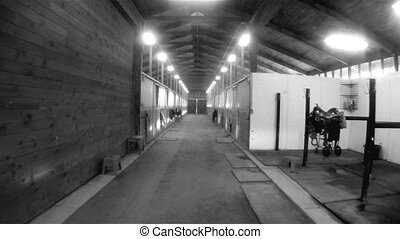 Horse Barn Animal Sport Paddock Equestrian Ranch Racing...