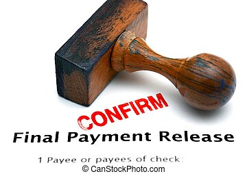 Payment release