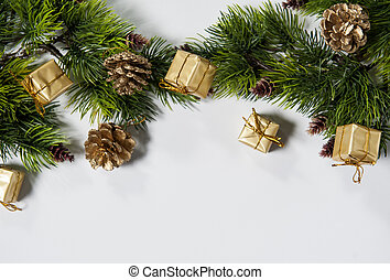 beautiful background for Christmas and New Year greeting...