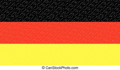 Flag German Banner patriot, national and freedom and...