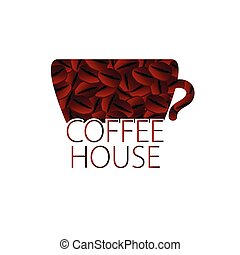 coffee house vector - coffee house color vector