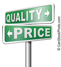 quality versus product price - price quality product best...