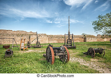 Ancient Weapon in Akkerman fortress at Belgorod-Dnestrovsky...