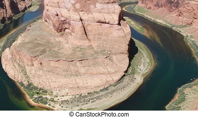 Horseshoe Canyon Panning shot