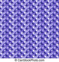 Seamless violet river fish scales - Seamless violet shiny...